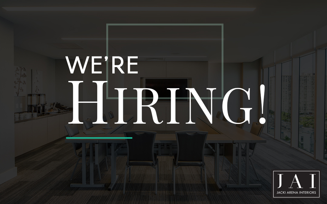 Now Hiring: Senior Hospitality Interior Designer